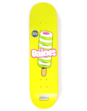 Fabric Baines Twister Skateboard Deck - 8.25