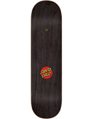 Santa Cruz Classic Dot Wide Tip Skateboard Deck - 8.25