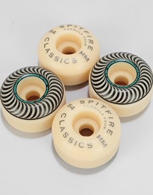 Spitfire Stay Lit Formula Four Classic 99d Skateboard Wheel - 54mm