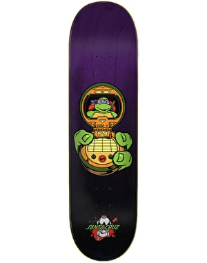 Santa Cruz x TMNT Donatello Skateboard Deck - 8.13