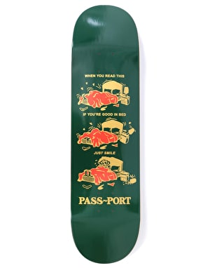 Pass Port Good In Bed Baby Series Skateboard Deck - 8.38