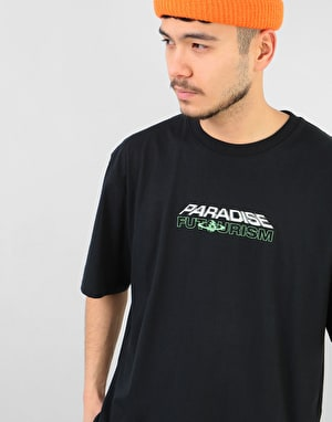 Paradise Youth Club Future Pleasure T-Shirt - Black