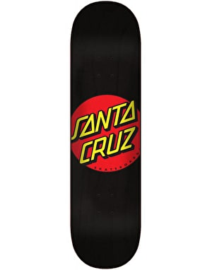 Santa Cruz Classic Dot Wide Tip Skateboard Deck - 8