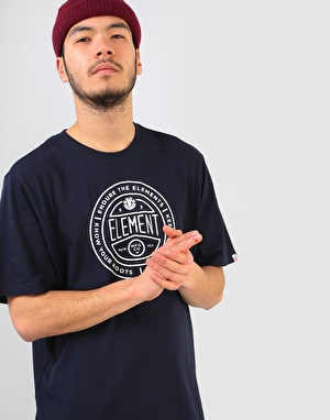 Element Token T-Shirt - Eclipse Navy