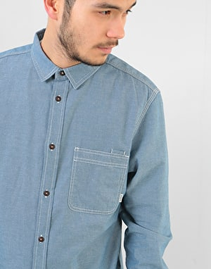 Element Preston L/S Shirt - Blue Chambray