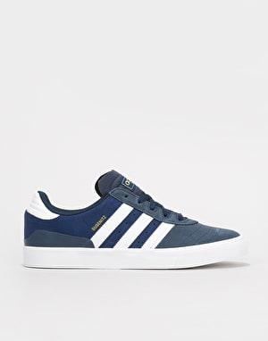 Adidas Busenitz Vulc Skate Shoes - Collegiate Navy/White/Dark Blue