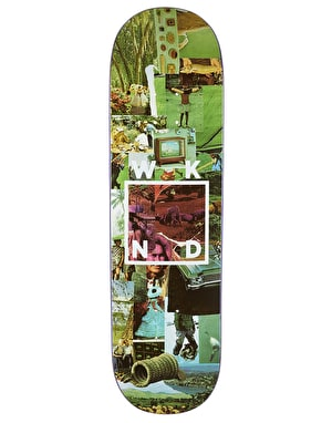 WKND Collage Logo Skateboard Deck - 8.25