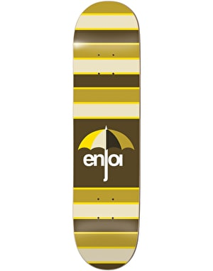Enjoi Stripes Skateboard Deck - 8.25