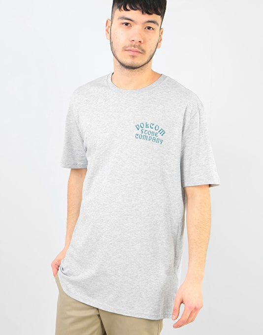 Volcom Hyptonec T-Shirt - Heather Grey