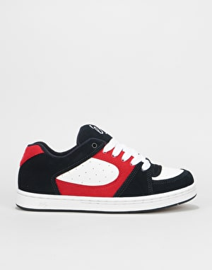 éS Accel OG Skate Shoes - Navy/White/Red