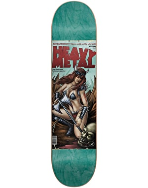 Darkstar x Heavy Metal Bachinksy Skateboard Deck - 8