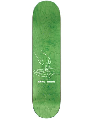 Almost Skateistan Skateboard Deck - 7.75