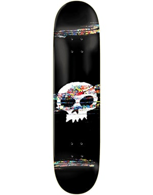 Zero Brockman Scratch Away Graphic Skateboard Deck - 8.25