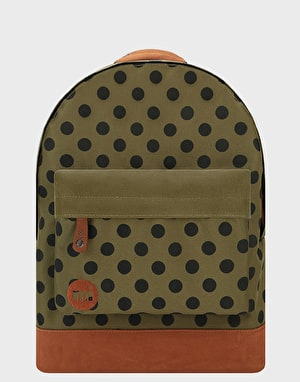 Mi-Pac All Polka Backpack - Khaki/Tan
