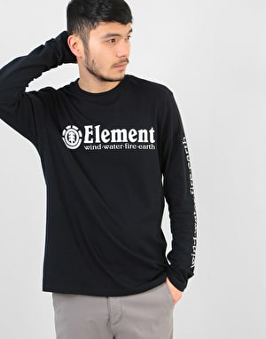 Element Horizontal L/S T-Shirt - Flint Black