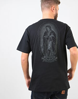 Santa Cruz Ghost Lady T-Shirt - Black
