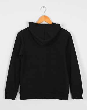 Element Bark Logo Boys Pullover Hoodie - Flint Black