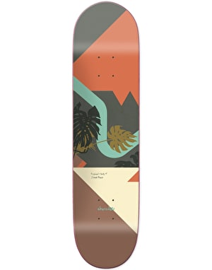 Chocolate Perez Hecox Tropical Studies Skateboard Deck - 8.375