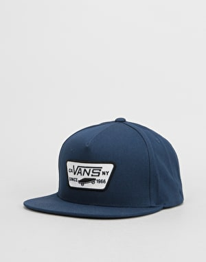 Vans Full Patch Snapback Cap - Dress Blue/Dress Blue
