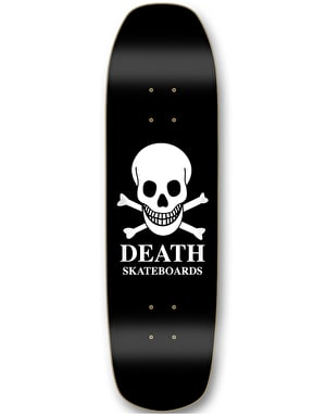Death OG Skull 'Pool Shape' Skateboard Deck - 8.75