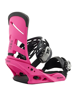 Burton Mission 2019 Snowboard Bindings - Pink