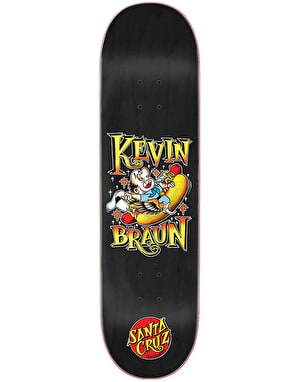 Santa Cruz Braun Hot Dog Skateboard Deck - 8.25