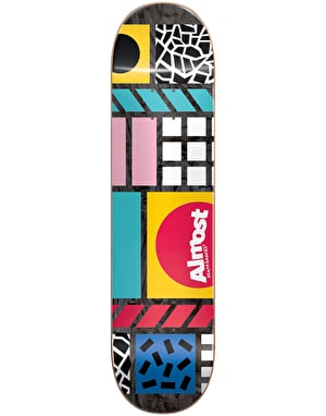 Almost New Wave Skateboard Deck - 8