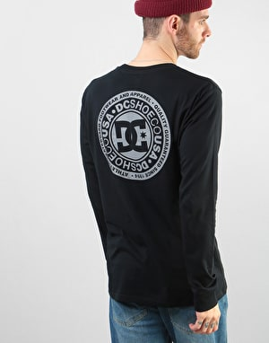 DC Splitted L/S T-Shirt - Black