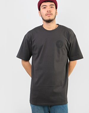 Brixton Rival II T-Shirt - Washed Black