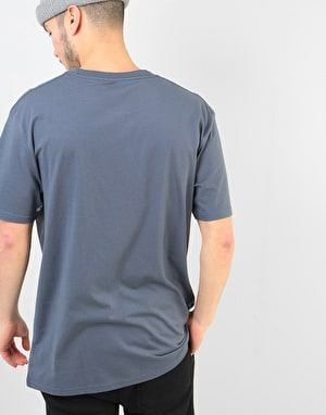 Volcom Crisp Euro T-Shirt - Midnight Blue