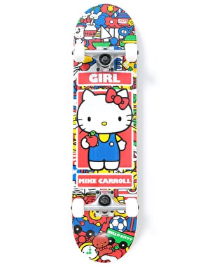 Girl x Hello Kitty Carroll Sanrio World Complete Skateboard - 7.75
