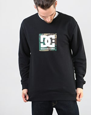 DC Camo Boxing Crew - Black