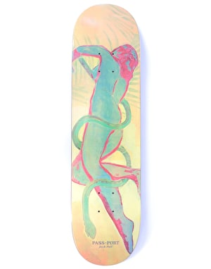 Pass Port Pall Painted Lady Skateboard Deck - 8.25