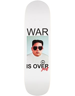 Jart War is Over Pool Skateboard Deck - 8.75