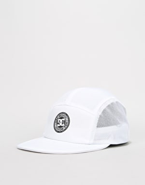 DC Toneballer 5 Panel Cap - White