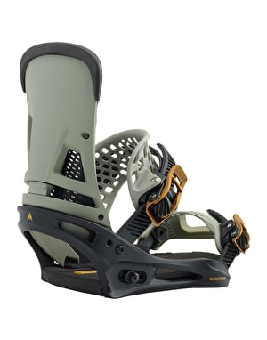 Burton Malavita EST 2019 Snowboard Bindings - Black/Grey