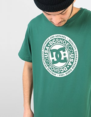 DC Circle Star T-Shirt - Hunter Green
