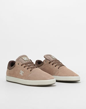 DC Crisis Skate Shoes - Brown/Brown/Brown