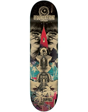 Foundation Duffel Nuclear Skateboard Deck - 8.375