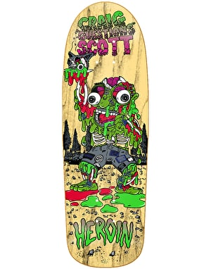 Heroin Craig 'Questions' Big Guy Skateboard Deck - 10