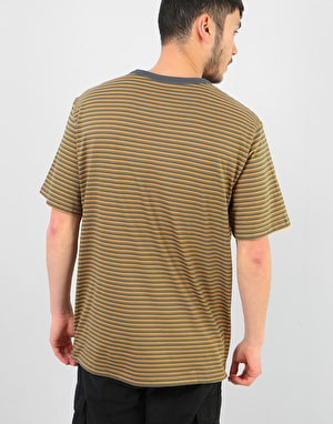 Element Striped Crew T-Shirt - India Ink