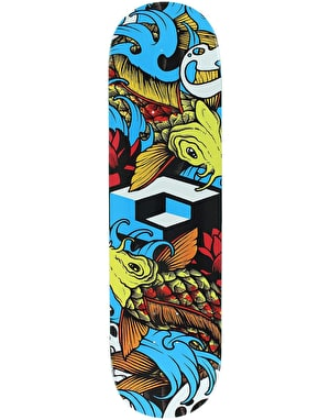 Consolidated Koi Cube Skateboard Deck - 8.1
