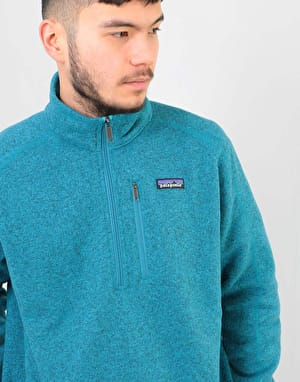 Patagonia Better Sweater® 1/4 Zip - Mako Blue
