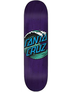 Santa Cruz Wave Dot Skateboard Deck - 8.375