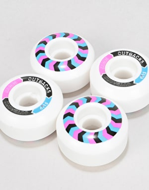 Flip Cutback 99a Skateboard Wheels - 53mm