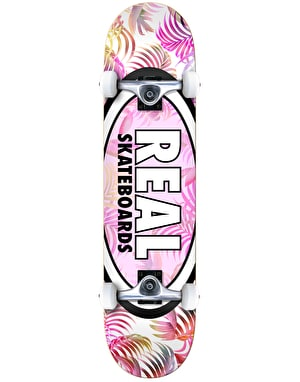 Real Oval Tropics Complete Skateboard - 8