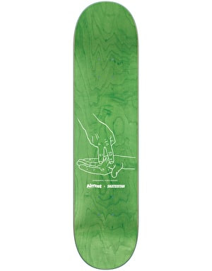 Almost x Skateistan Skateboard Deck - 8