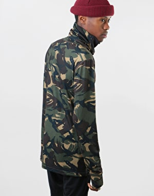 Burton Midweight Long Neck Thermal Top - Seersucker Camo