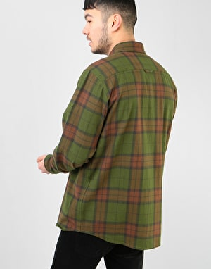 Dickies Long Sleeve Brownsburg Shirt - Green