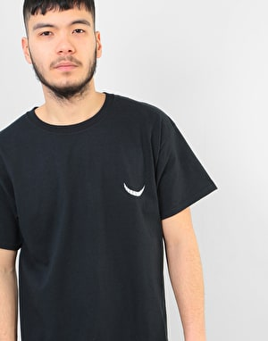 Route One Checker Cat T-Shirt - Black